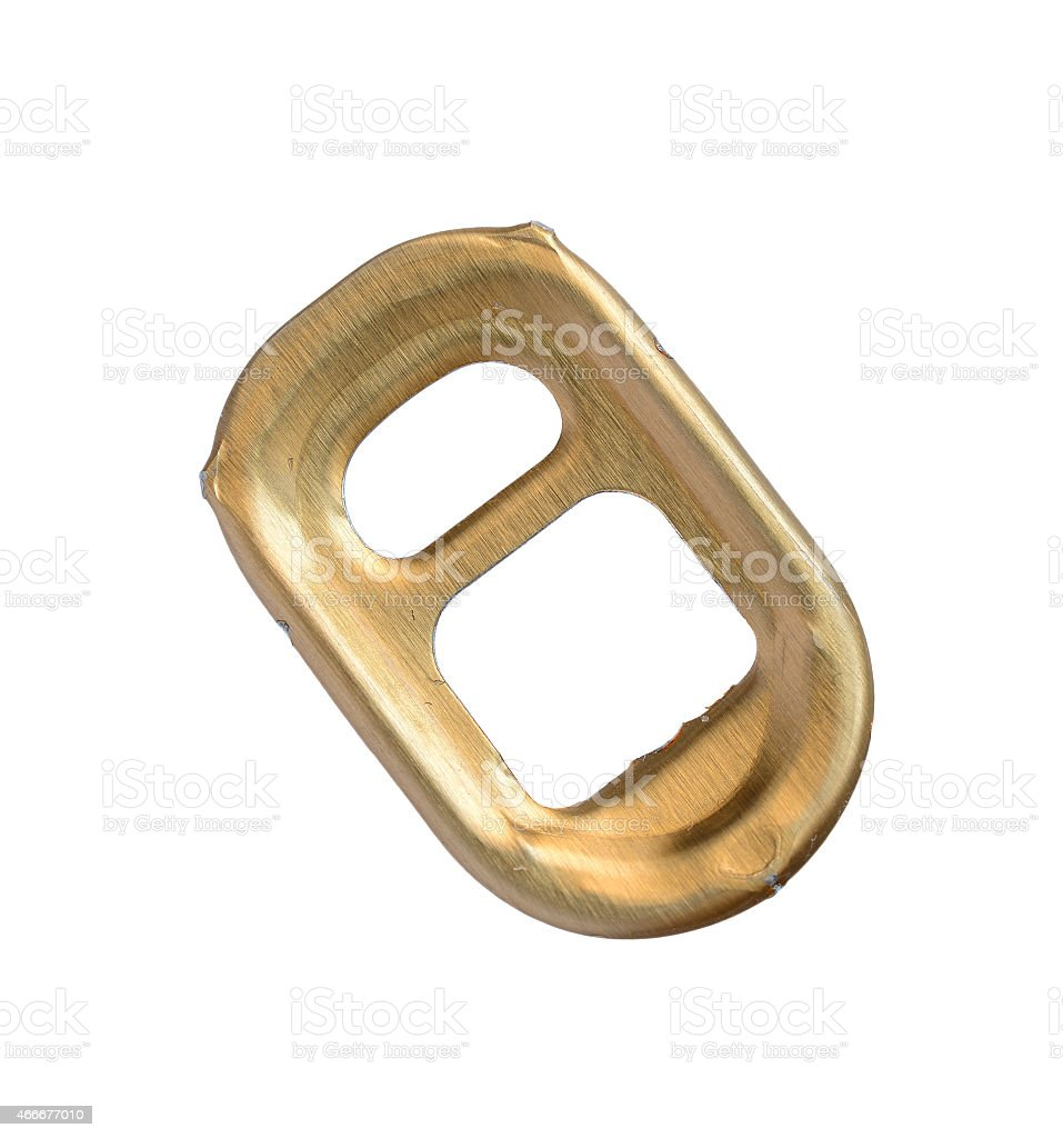 Ring-pull. stock photo