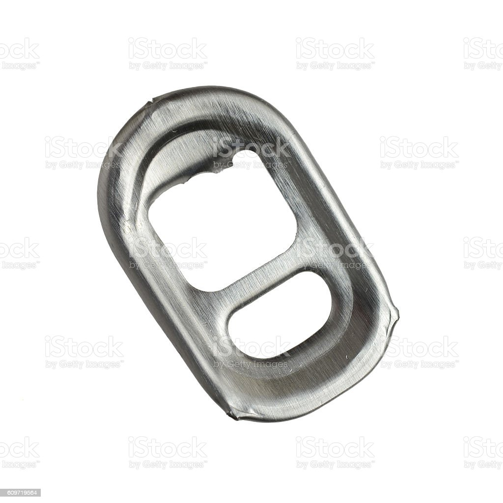 Ring-pull stock photo