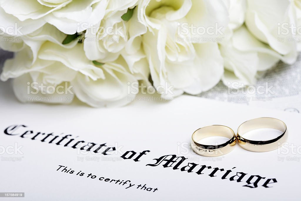 Marriage Certificate Pictures, Images And Stock Photos - Istock