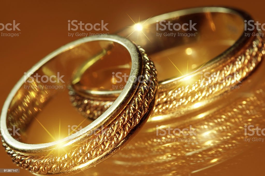 Rings royalty-free stock photo
