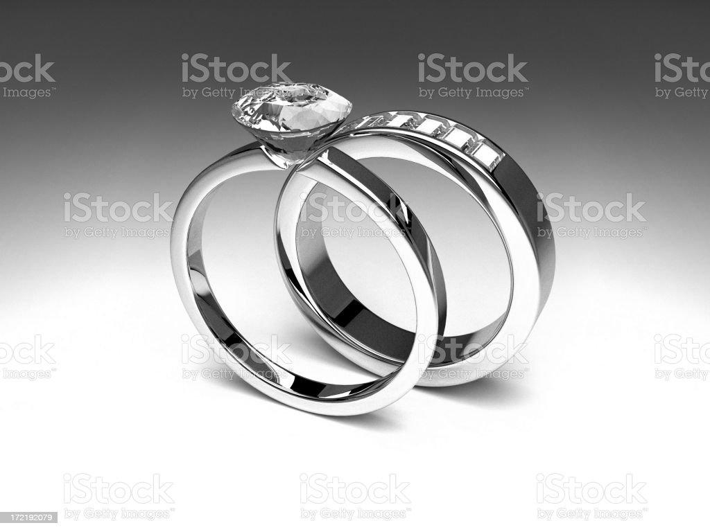 Rings Series 04 stock photo