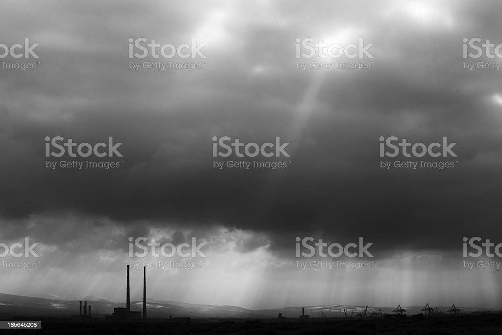 Ringsend, Dublin stock photo
