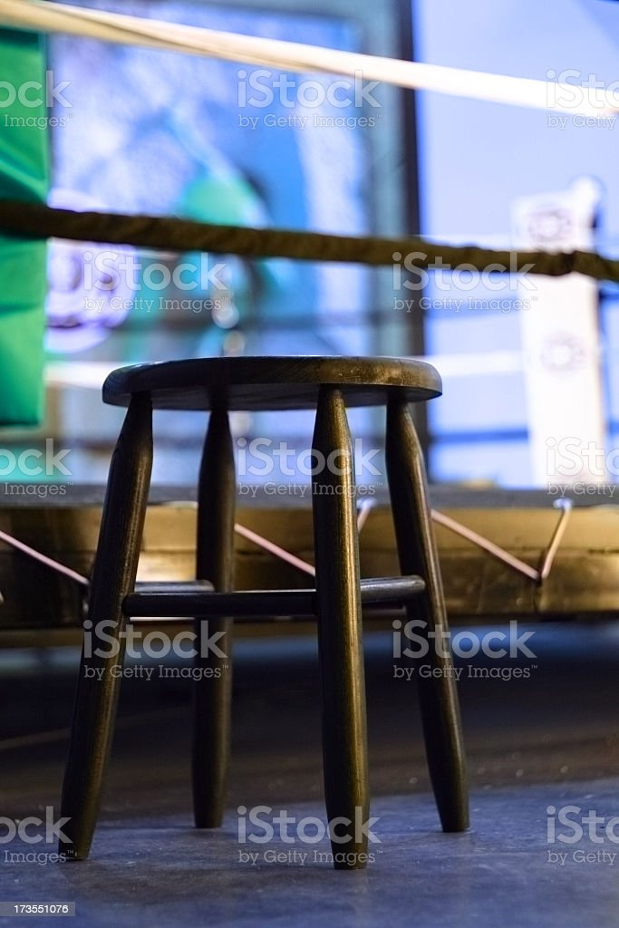 Ringside seat royalty-free stock photo