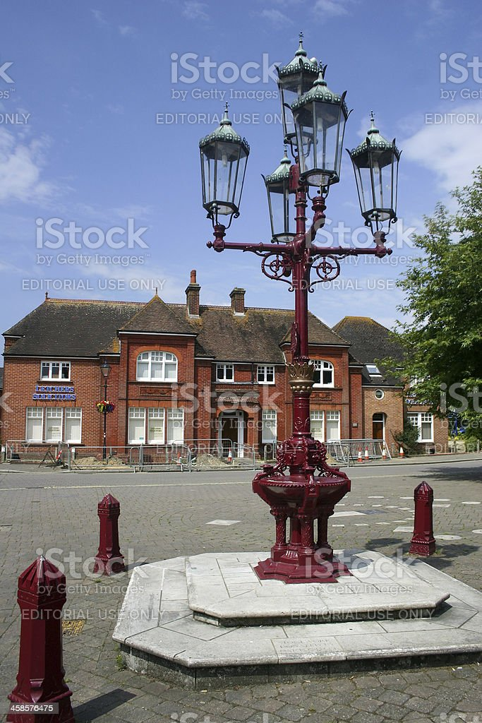 Ringwood in the New Forest, England stock photo