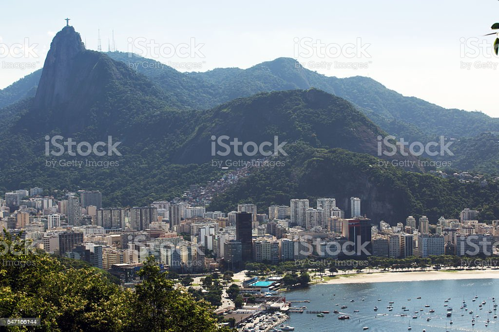 Rio aerial view stock photo