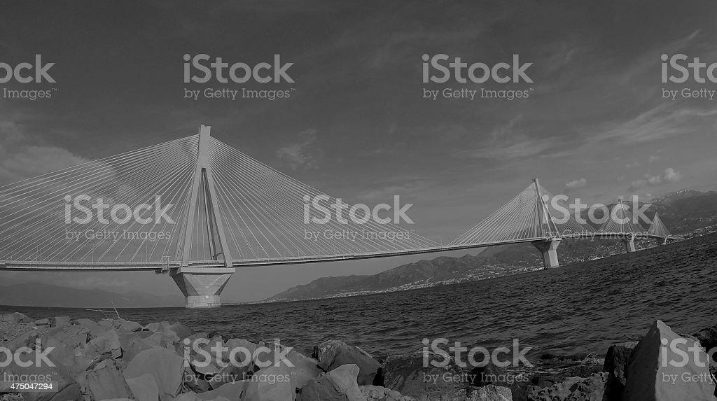 Ponte di Rio foto stock royalty-free