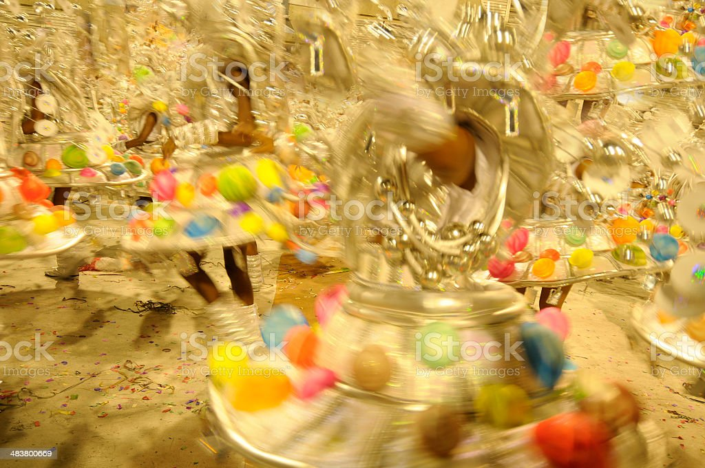 Rio Carnival backgrouds royalty-free stock photo
