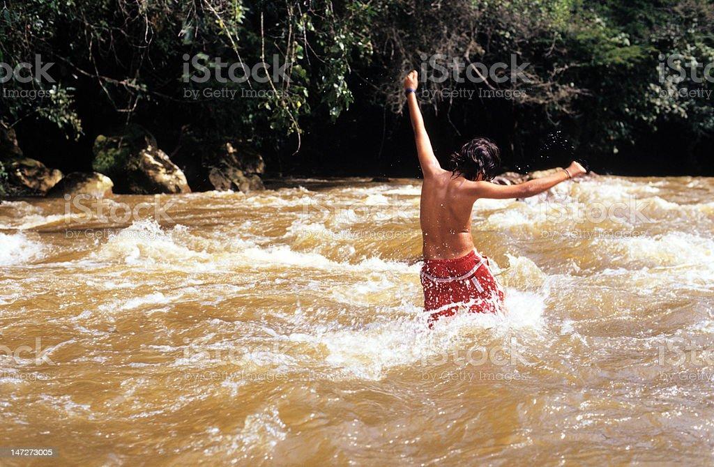 Rio Claro royalty-free stock photo