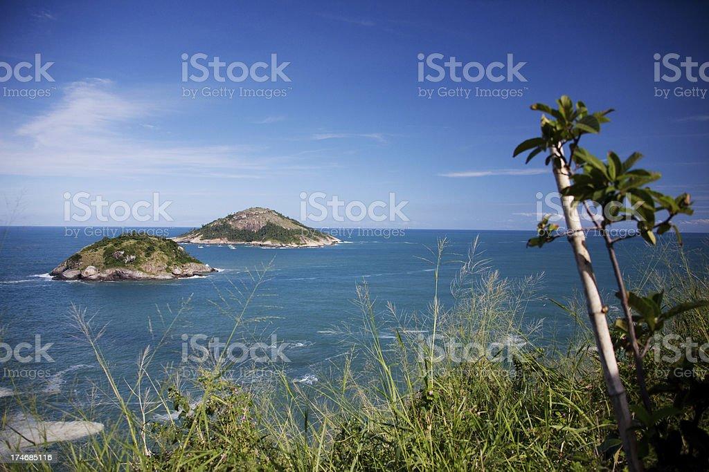 Rio de Janeiro Beach royalty-free stock photo
