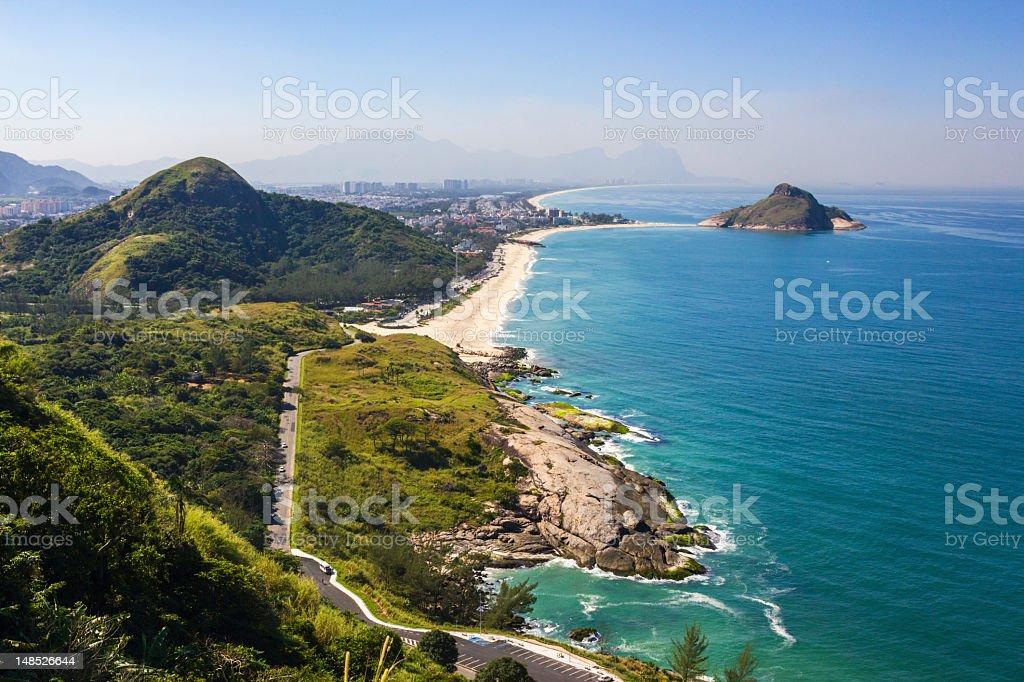 Rio de Janeiro beaches stock photo