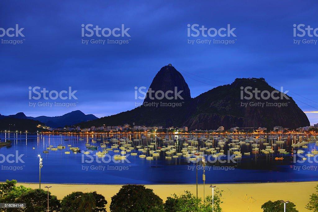 Rio De Janeiro, Brazil: Botafogo/Sugarloaf stock photo