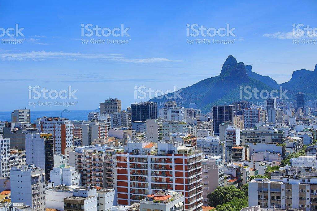 Rio De Janeiro, Brazil: Ipanema stock photo