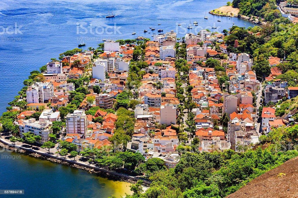 Rio de Janeiro, Brazil - Residential Area stock photo