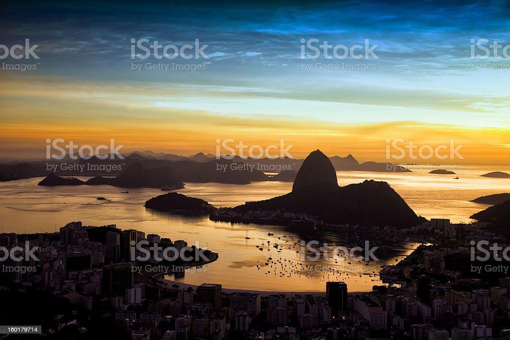 Rio de Janeiro city stock photo