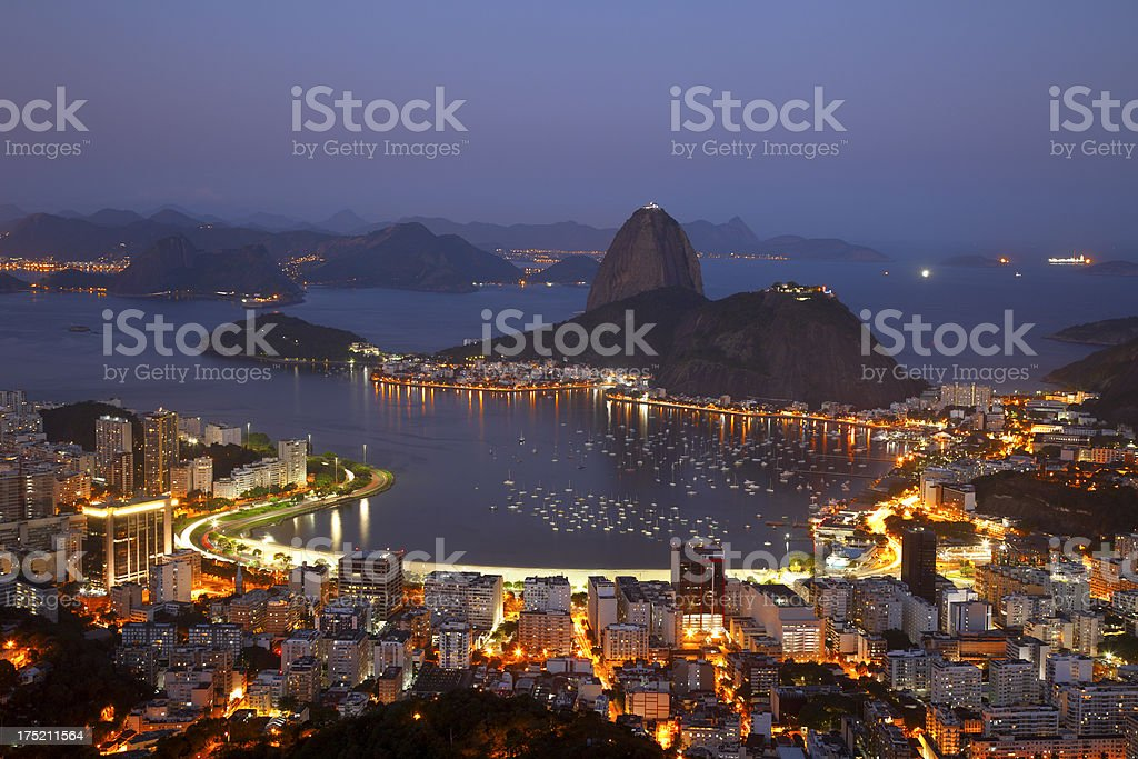Rio de Janeiro city royalty-free stock photo