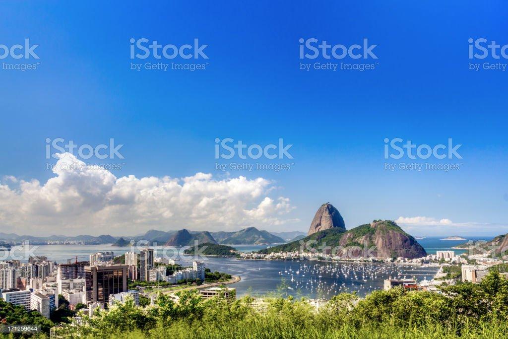 Rio de Janeiro cityscape stock photo
