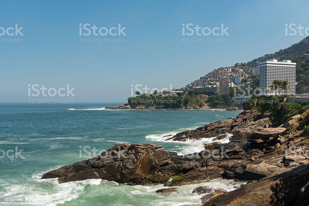 Rio de Janeiro Coast stock photo