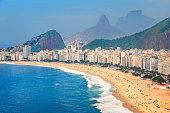 Rio de Janeiro Copacabana Beach Brazil