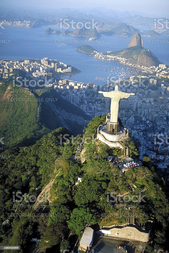 Rio de Janeiro, Corcovado royalty-free stock photo