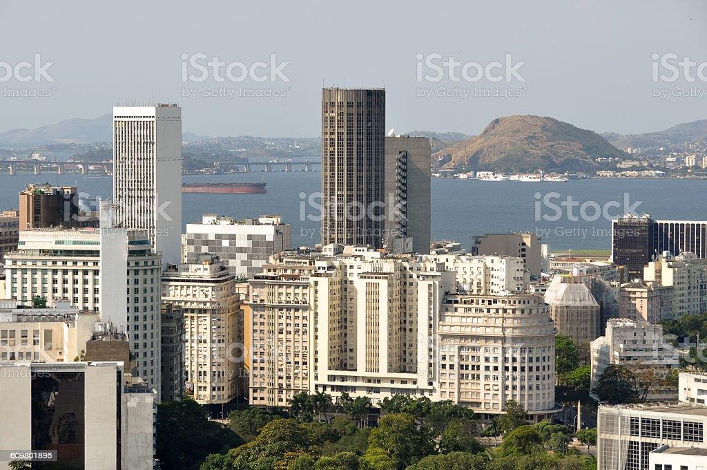 Rio de Janeiro Downtown stock photo