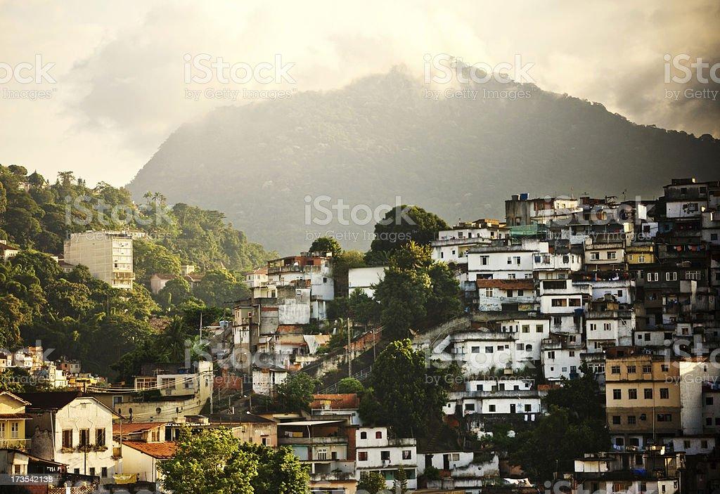 Rio de Janeiro Favela royalty-free stock photo