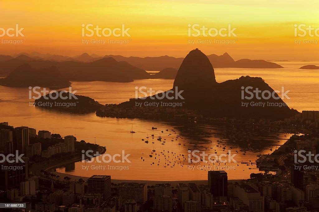 Rio de Janeiro general view royalty-free stock photo