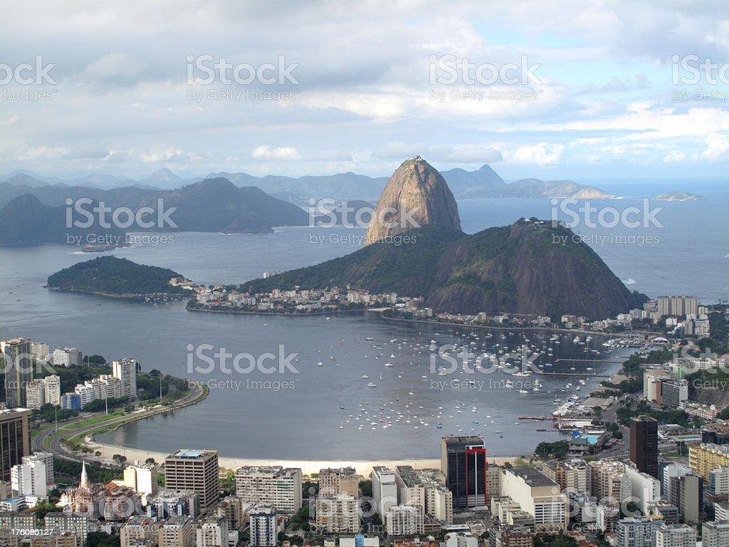 Rio de Janeiro - Guanabara royalty-free stock photo