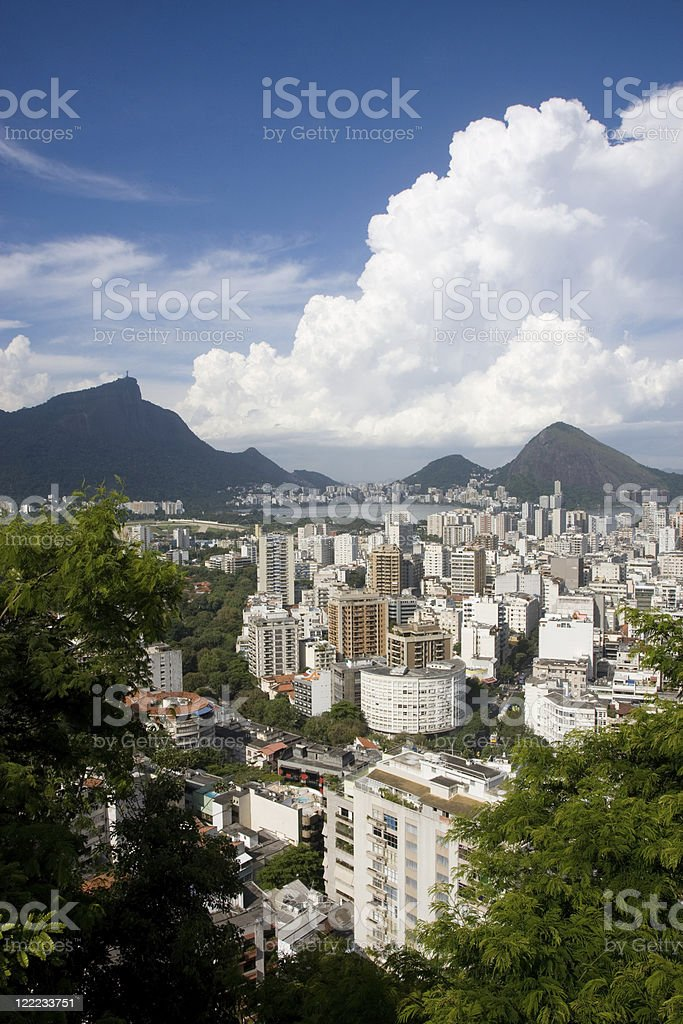 Rio de Janeiro. Leblon. royalty-free stock photo