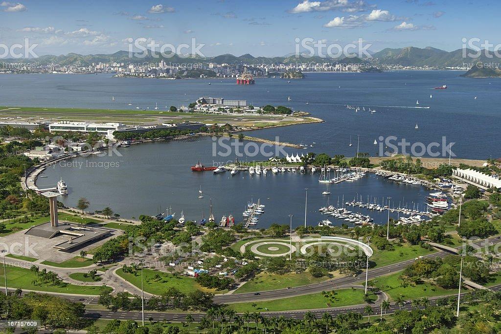 Rio de Janeiro Marina da Gloria royalty-free stock photo