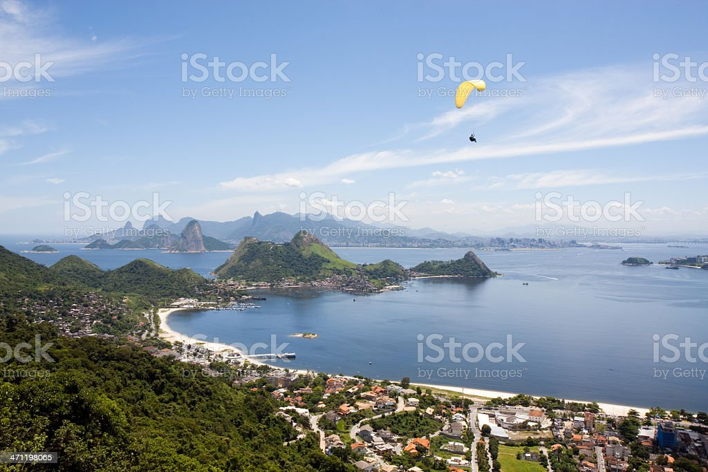 Rio de Janeiro, Mountains and Beaches royalty-free stock photo