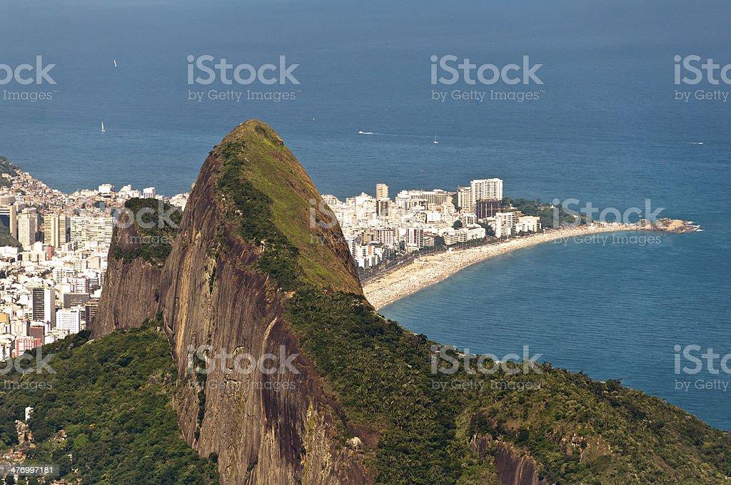 Rio de Janeiro Mountains and Beaches stock photo