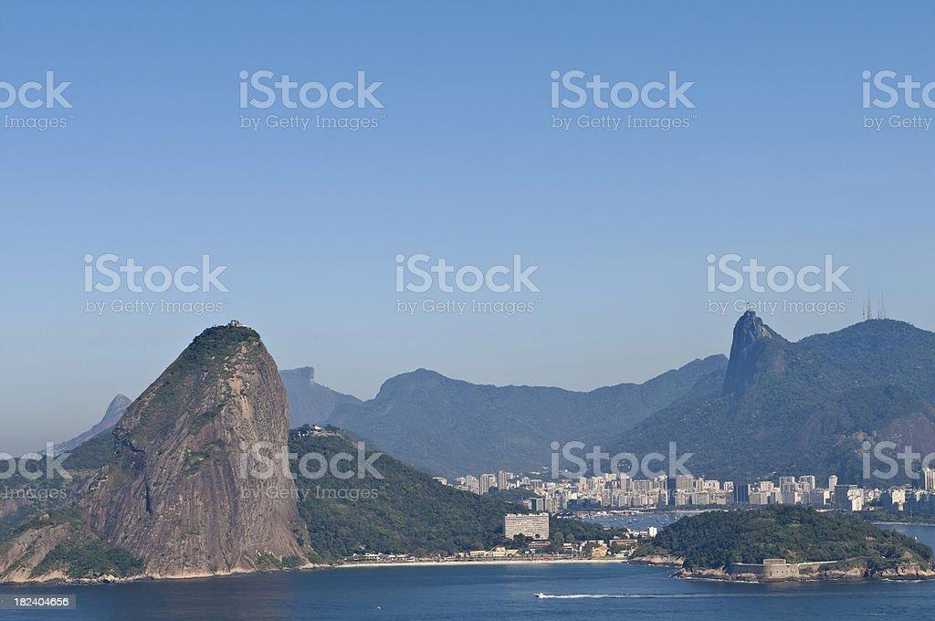 Rio de Janeiro mountains royalty-free stock photo