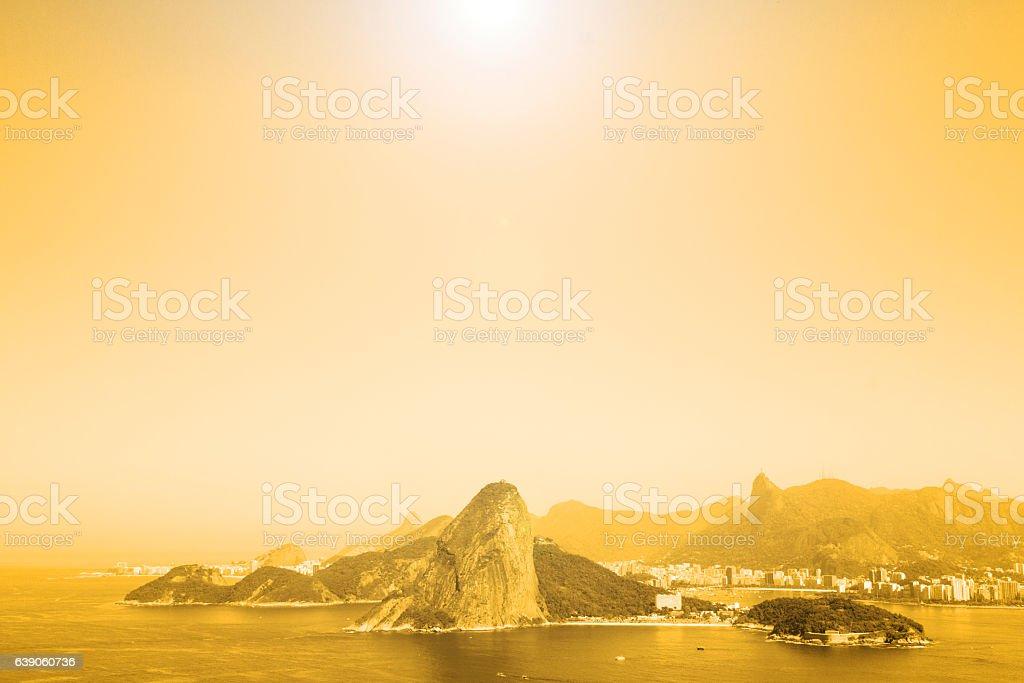 Rio de Janeiro mountains stock photo