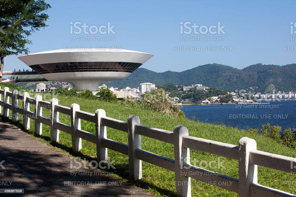 Rio de Janeiro. Niemeyer Museum. stock photo