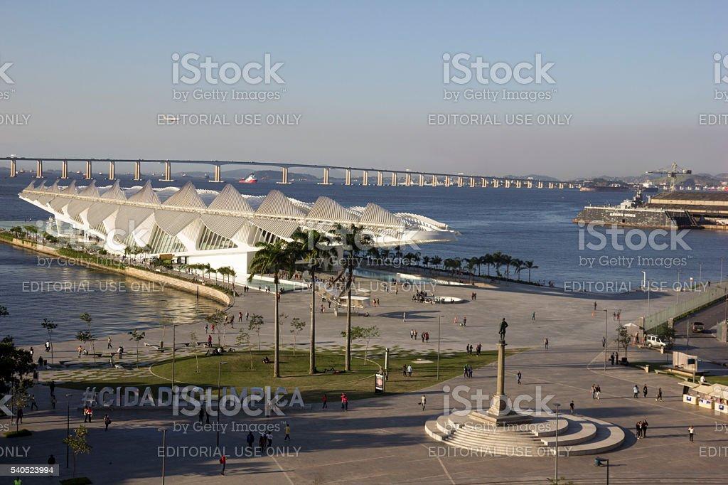 Rio de Janeiro Olympic City stock photo