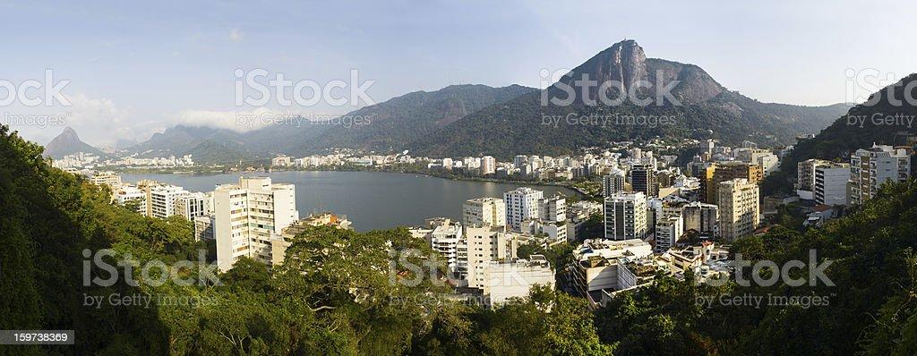 Rio de Janeiro panorama royalty-free stock photo