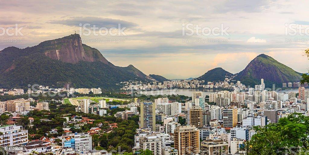 Rio de Janeiro panorama stock photo