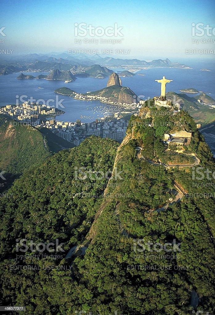 Rio de Janeiro, panoramic view stock photo