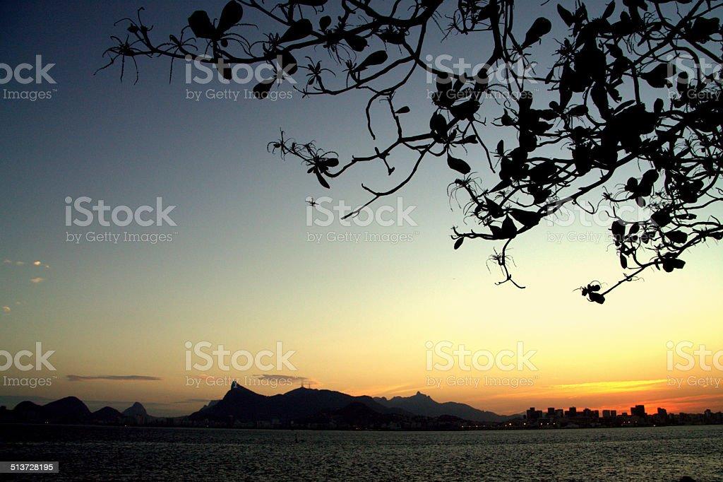 Rio de Janeiro Skyline stock photo