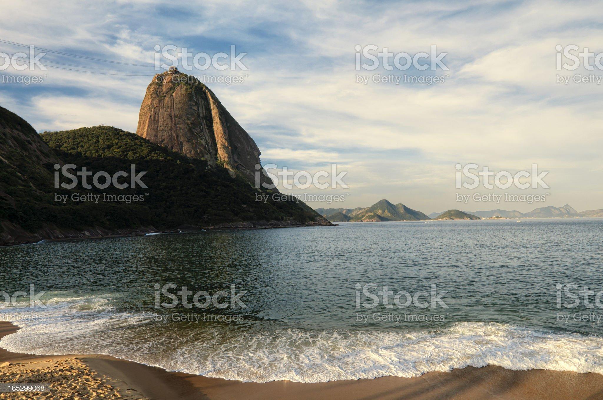 Rio de Janeiro Sugar Loaf royalty-free stock photo
