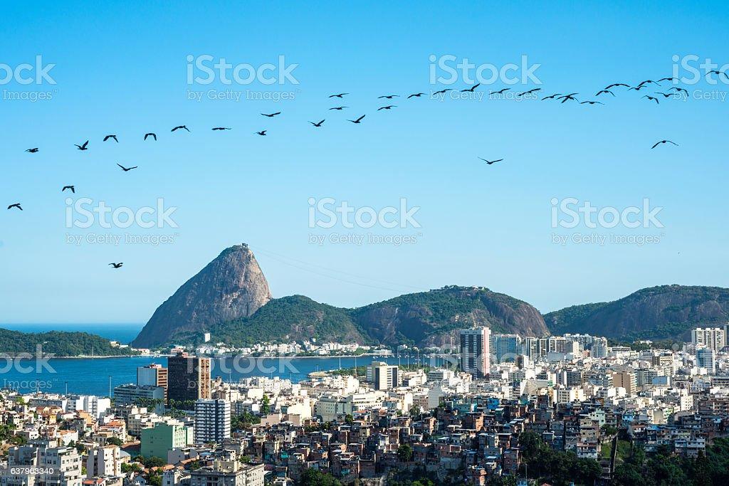 Rio de Janeiro, Sugarloaf Mountain stock photo
