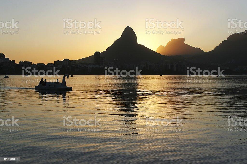 Rio de Janeiro, Tranquil Evening royalty-free stock photo