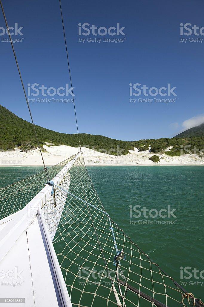 Rio de Janeiro. Tropical Beach. stock photo