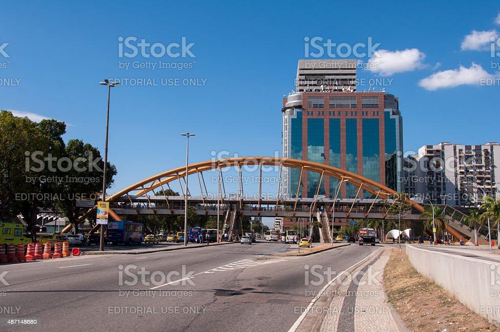 Rio de Janeiro Urban Scene stock photo