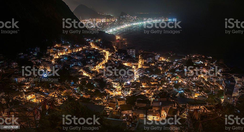 Rio de Janeiro_Favela Vidigal stock photo