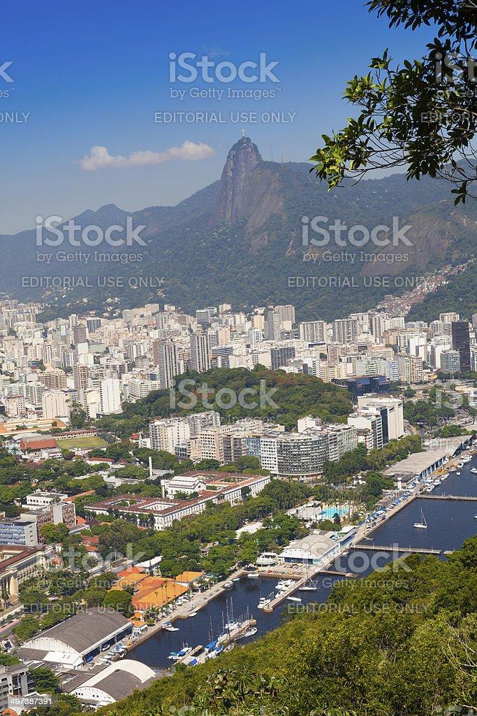 Rio de Janeiro,view from Sugarloaf Mountain Brazil royalty-free stock photo