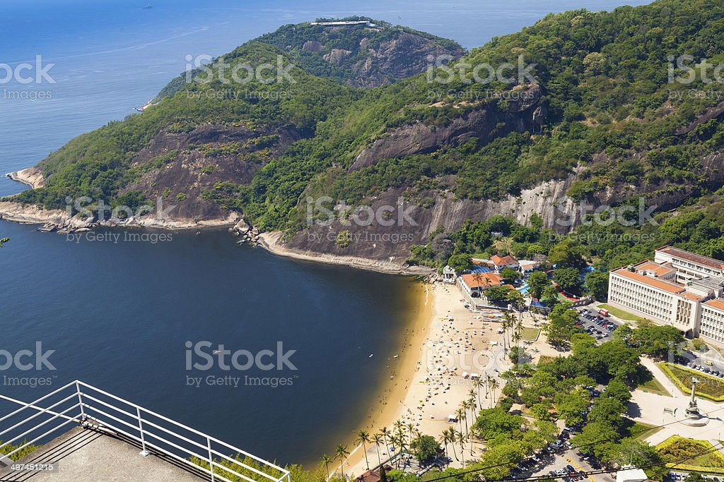 Rio de Janeiro,view from Sugarloaf Mountain Brazil royalty-free stock photo