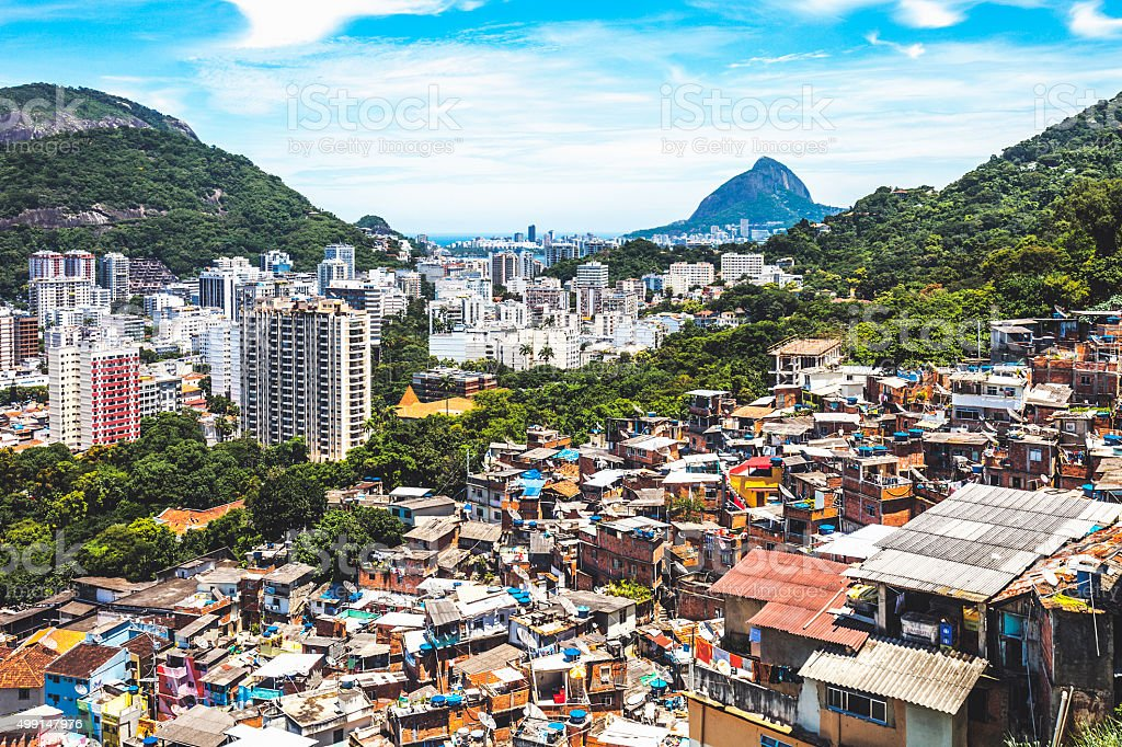 Rio De Janiero view. stock photo