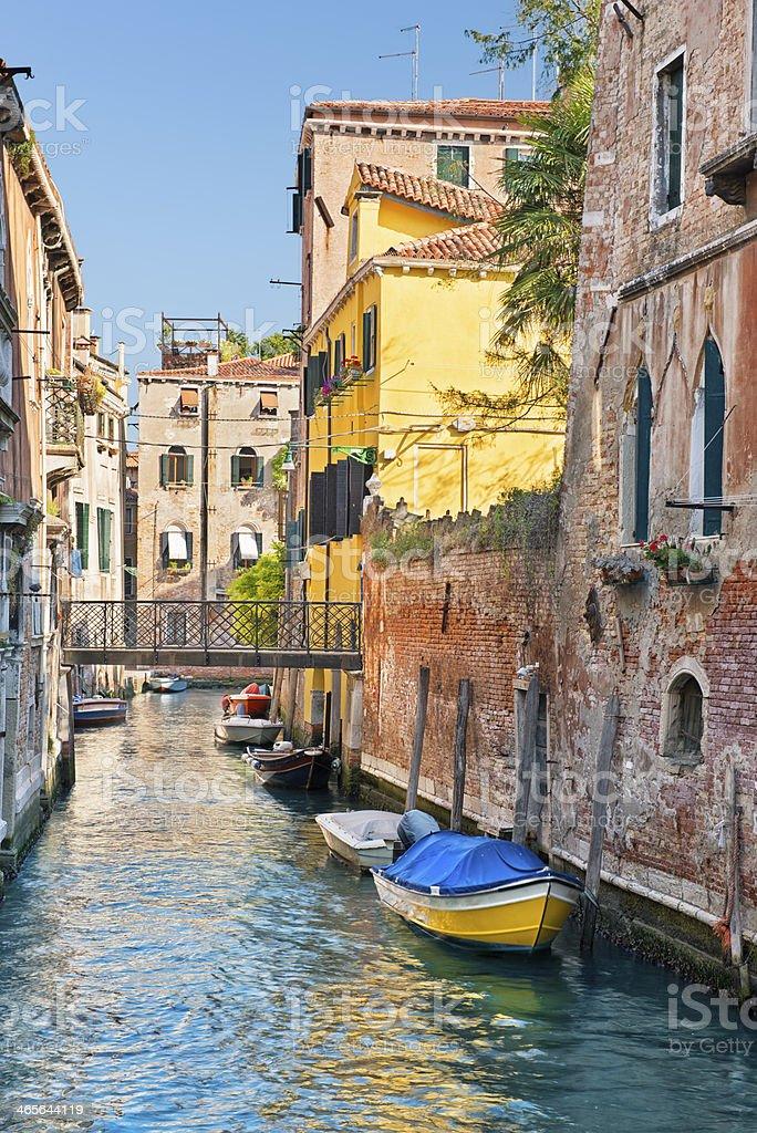Rio Di San Marco (Venezia) royalty-free stock photo