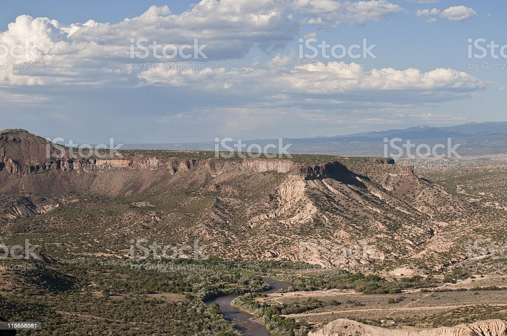 Rio  Grande Basin royalty-free stock photo